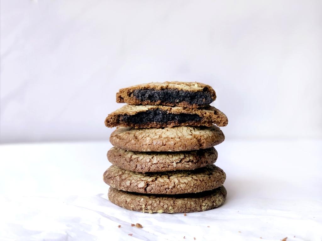 Bon Appétea: Sesame Mochi Hojicha Cookies