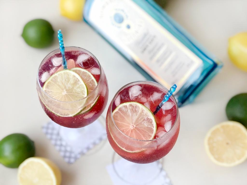 Bon-appe-tea: Hawaiian Punch Honey Lemon Gin And Tonic